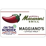 Discounted Dining Gift Card